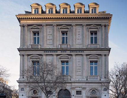 notaire chambre notariale de paris