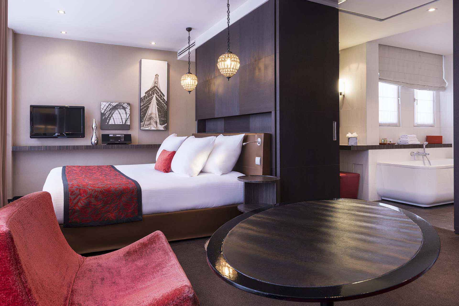 h tel champs elys es paris h tel etoile saint honor. Black Bedroom Furniture Sets. Home Design Ideas
