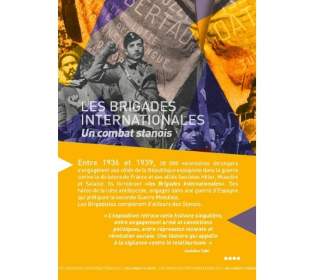 exposition les brigades internationales - un combat stanois