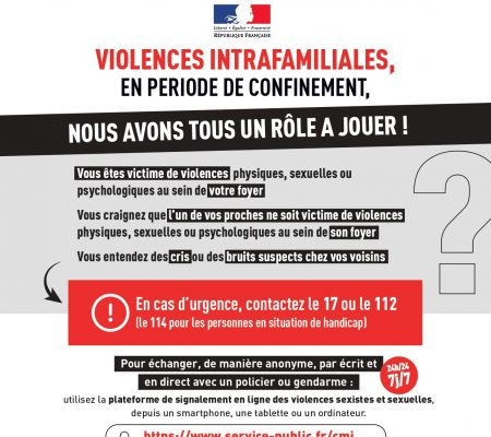 confinement - violences intrafamiliales - Ville de Stains