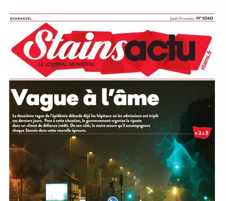 Couverture Stains Actu N°1040