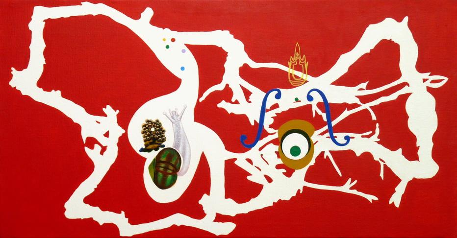040-2   「原象如相」系列之15 49.5x96.2cm      2014