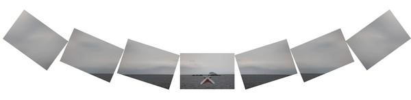 2011-2 個展 作品編號 C 3016-20  華梵  山海經緯線2011 個展