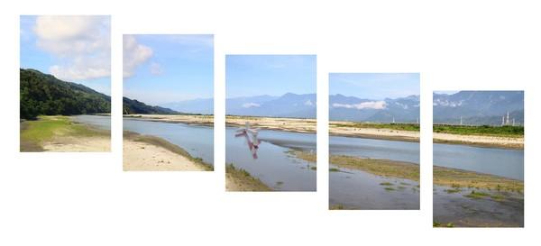 2011-2 個展 作品編號 Vb 3331-35  華梵  山海經緯線 個展2011