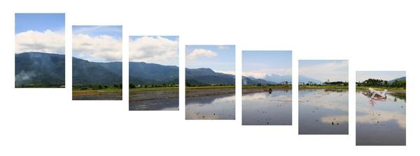 2011-2 山海經緯線 作品編號 Xi1 4341-47  2011