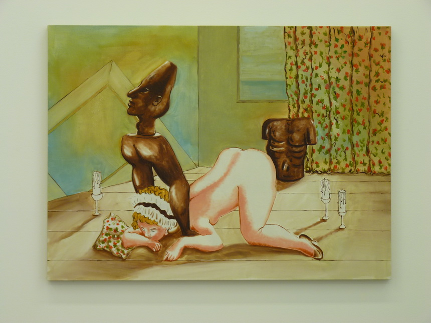 009 Patrizio Di Massimo the lustful turk -the green room 2012 86.5x117cm
