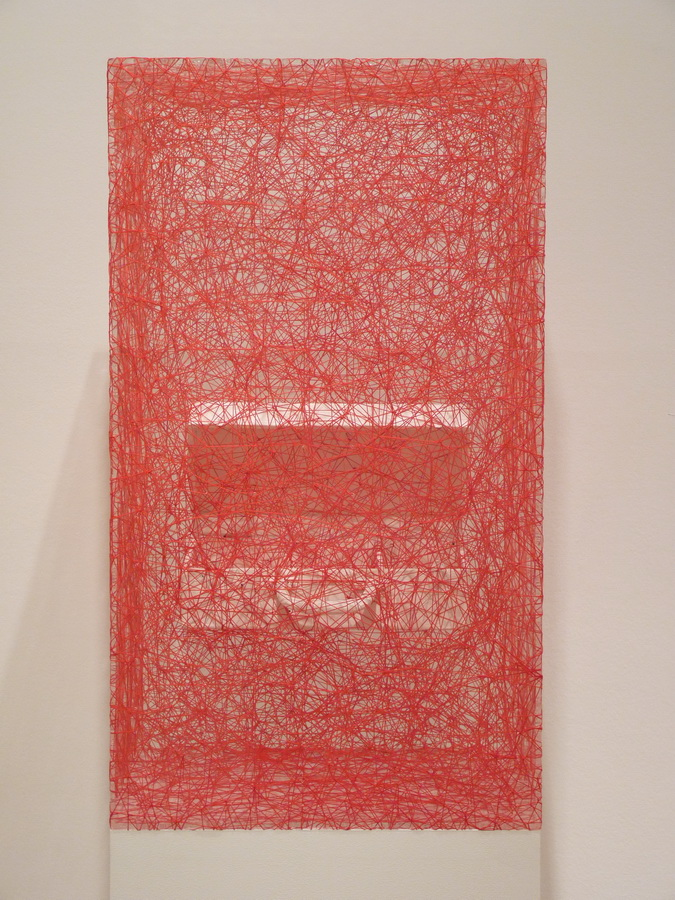 006 Chiharu Shiota ne1972 state of being -suitcase 80x45x45cm 2014