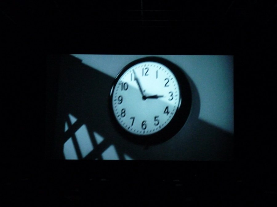 004 Christian Marclay  the clock 2010 installation video 24h centre Pompidou