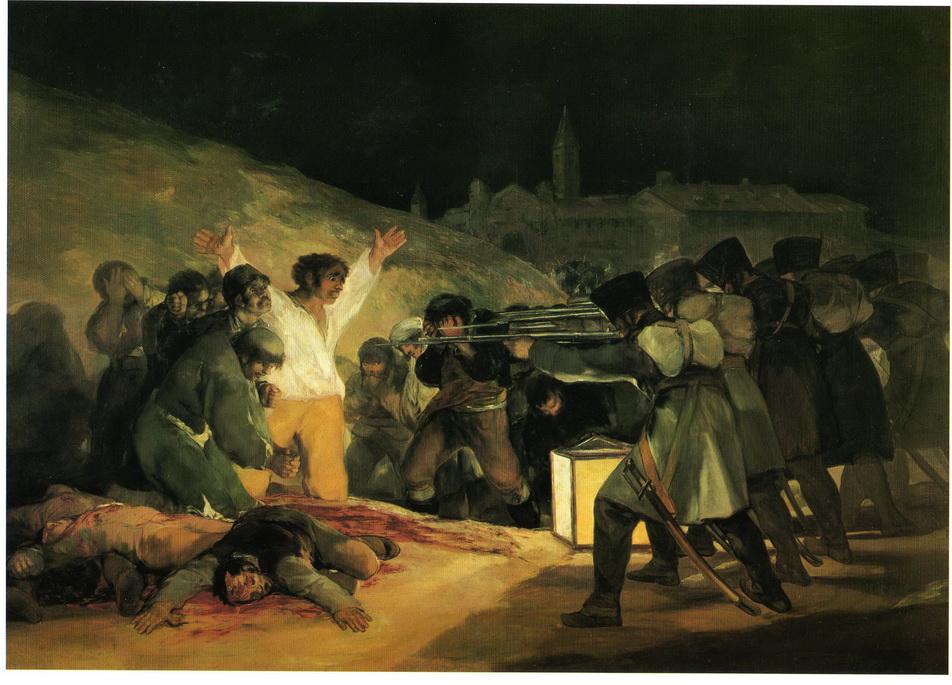 060 Goya 1814 Le trois mai 1808 266x345 Musee du Prado Madrid