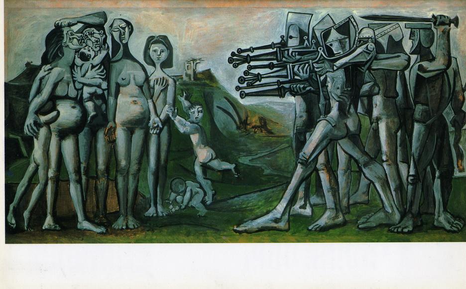 019 Picasso 1951Massacre en coree 110x210 Musee Picasso Paris