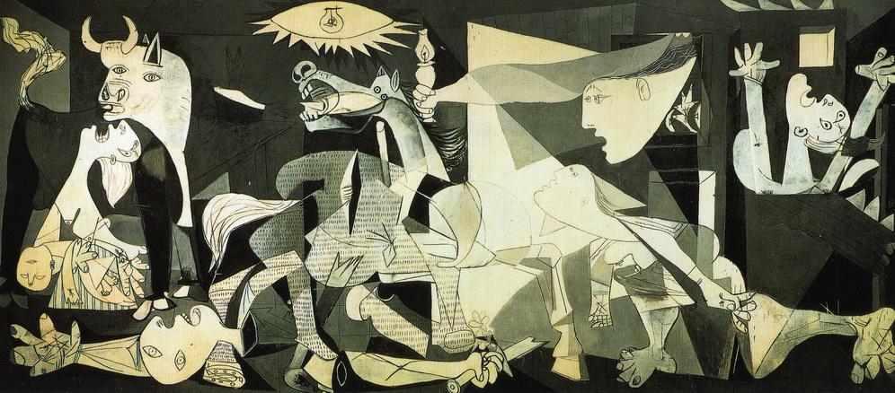 016 Picasso 1937 Guernica 349.3x776.6  Musee du Prado