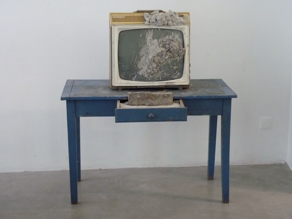 035 Wolf Vostell -endogen Depression 1980 installation