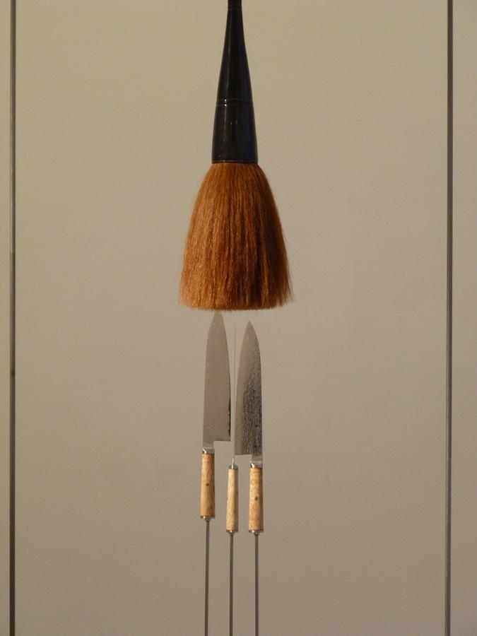 002 Rebecca Horn bacchus knot 2014 270x200x140cm