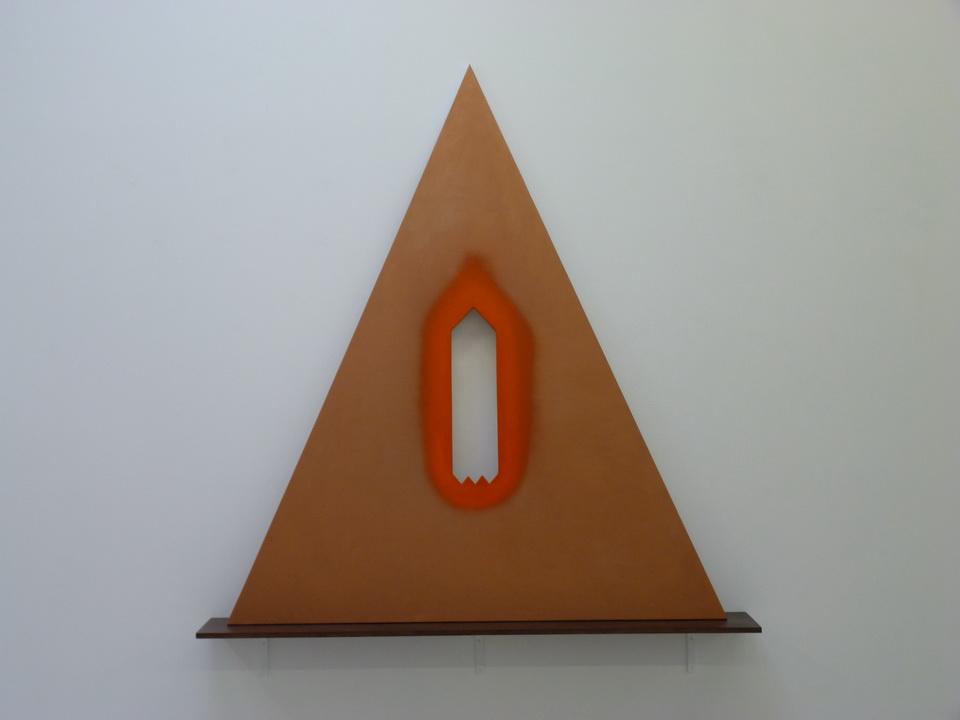 072 Blair Thurman sixpenny op 206x180x4cm 2014 acrylique sur toile sur bois