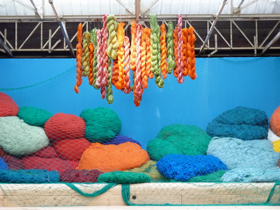 004 Sheila Hicks ne 1934 USA baoli 2014