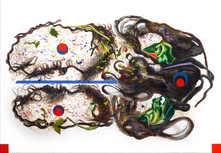 048-6 「如是如樣相」系列之7 壓克力-畫布   cm 2014