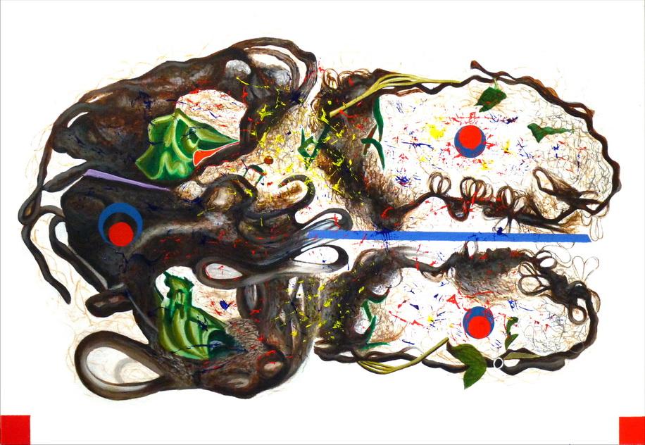 048-5 「如是如樣相」系列之8 壓克力-畫布   cm 2014