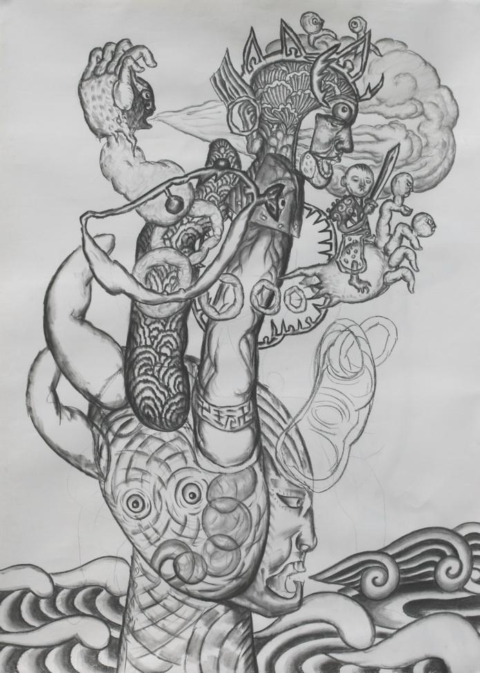 素描-鉛筆畫   藝海沉浮卍卐玩  2009