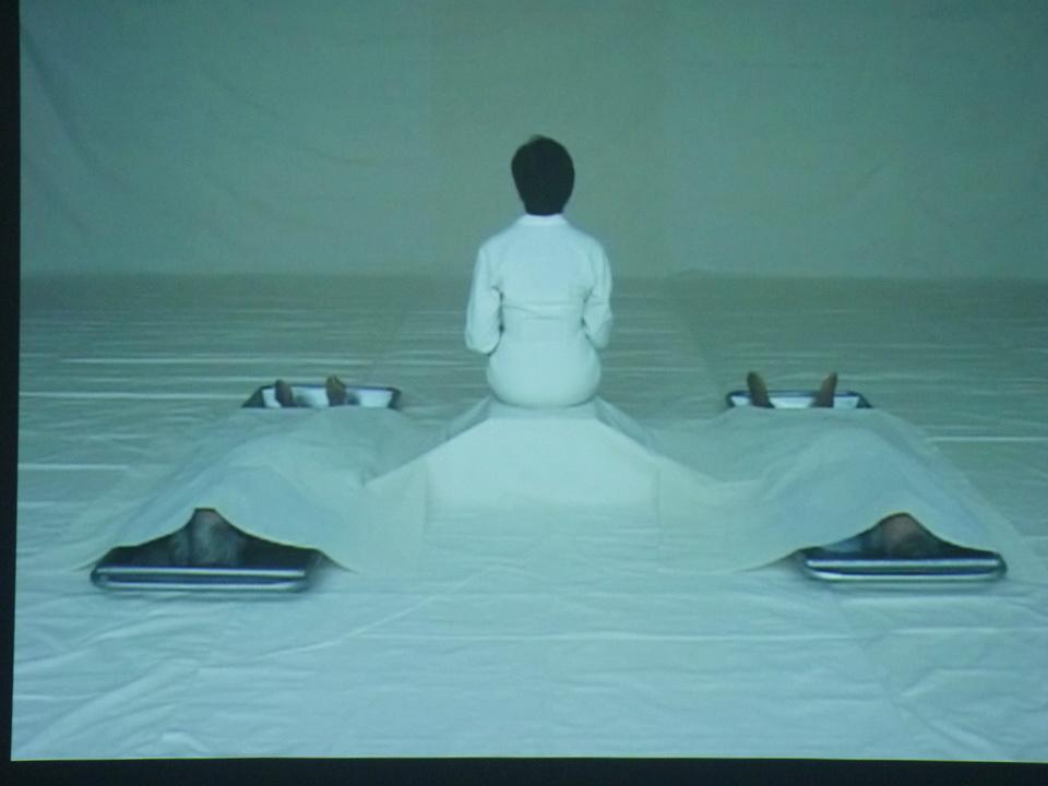 026-6  Araya Rasdjarmrearnsook b1957 conversation I-III 2005 video 12mm