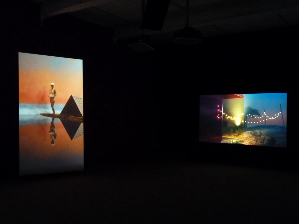 026 Yang Fudong the coloured SKY-new women II  video installation 2014