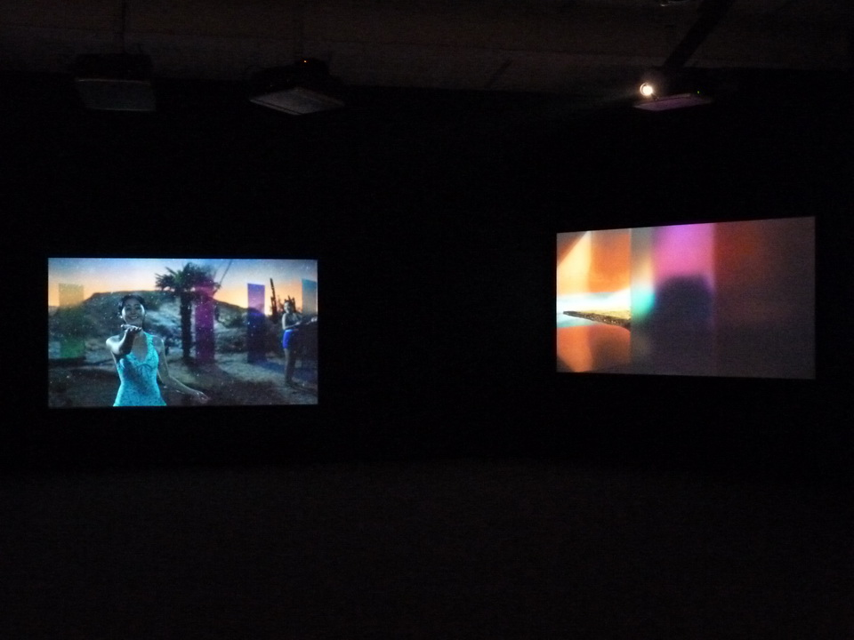 028 Yang Fudong the coloured SKY-new women II  video installation 2014