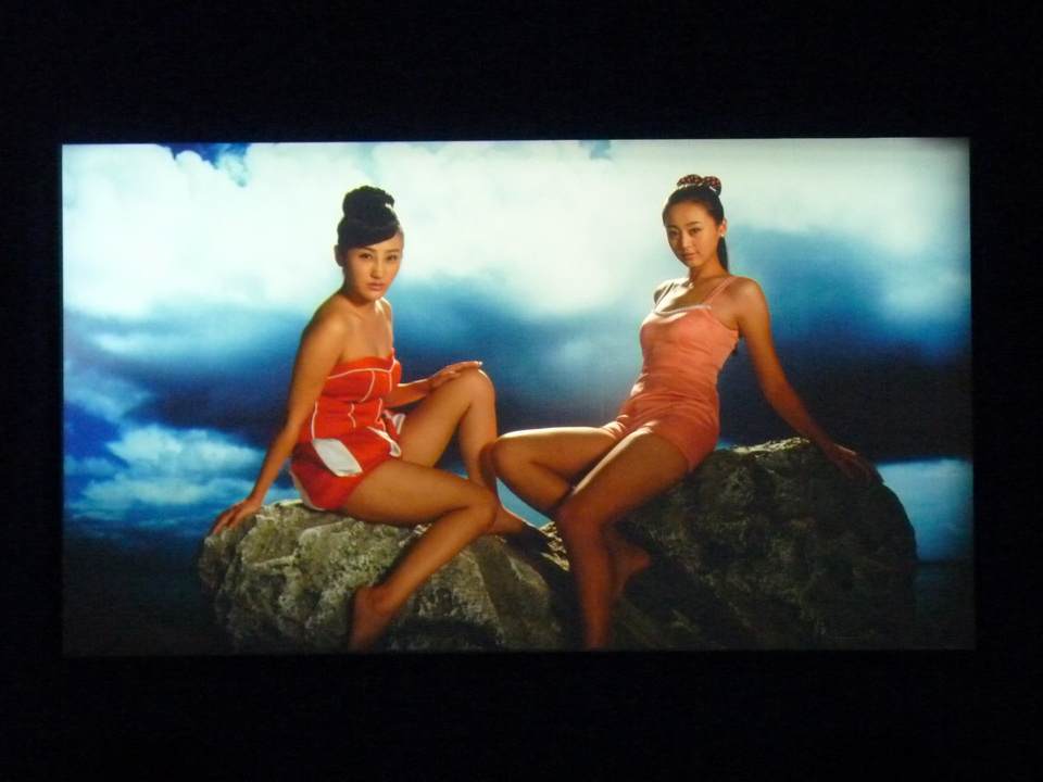 023 Yang Fudong the coloured SKY-new women II  video installation 2014