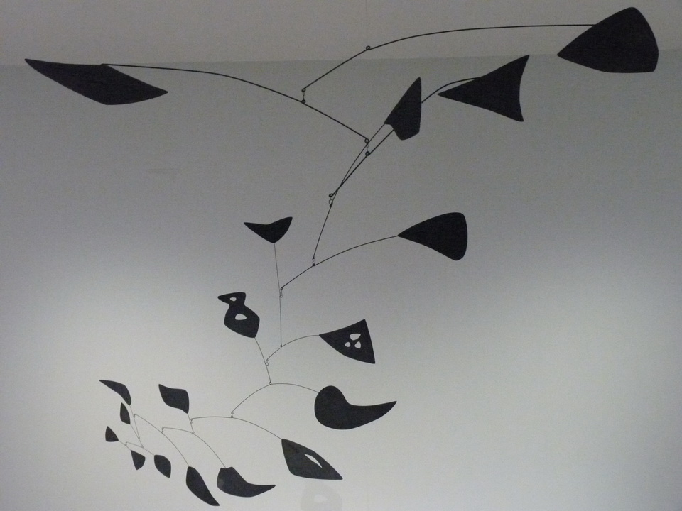 002 Alexander Calder 1898-1976 eighteen numbered black 1953  metal et peinture