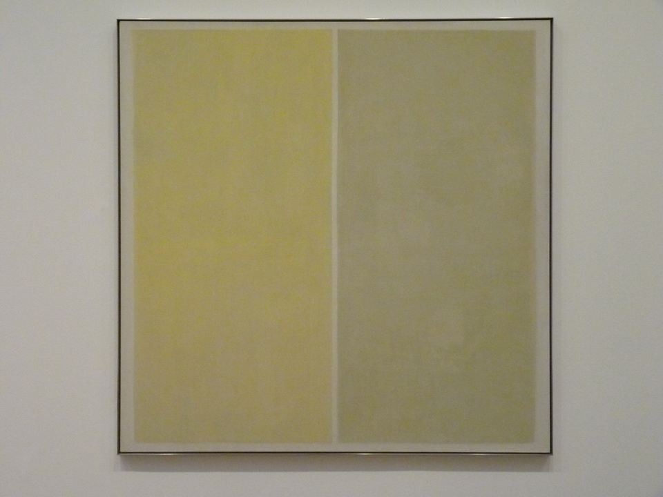 001 Agnes Martin untitled 1957 oil paint and graphite on canvas