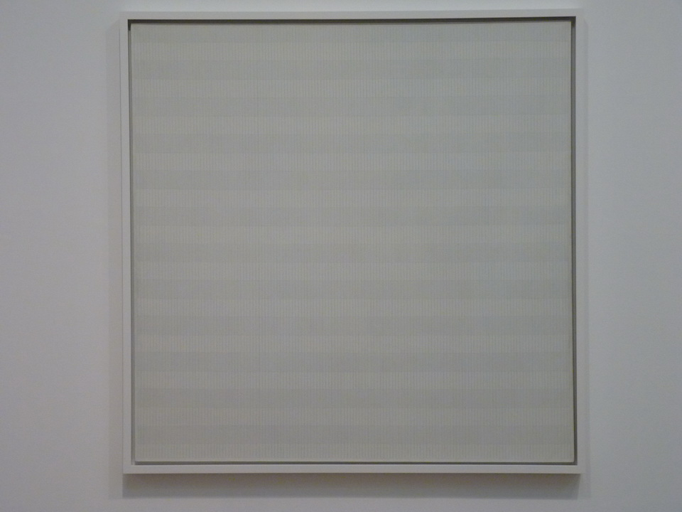 002 Agnes Martin  the tree 1964 oil paint and graphite on canvas