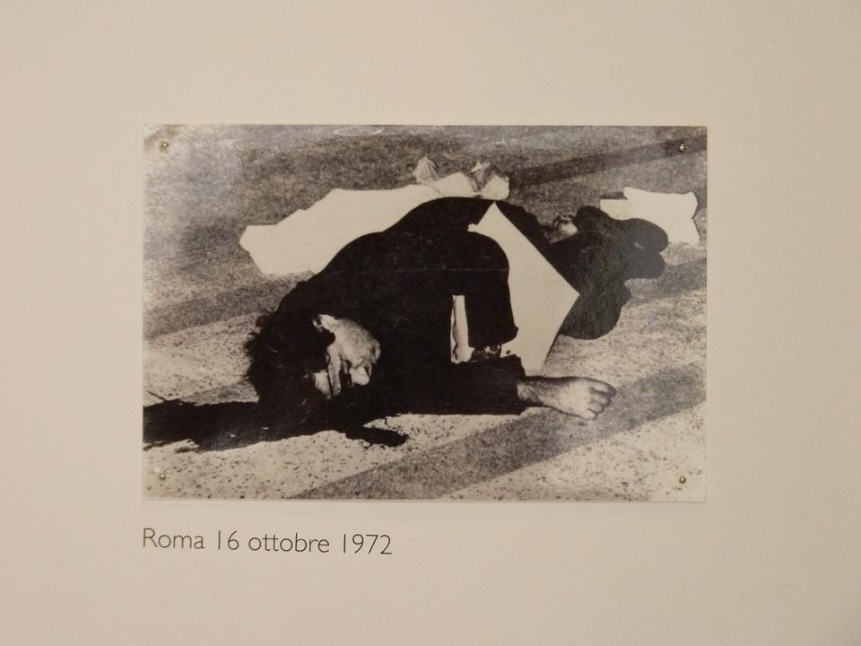P1460225  Emily  Jacir  Roma 16 ottobre 1972