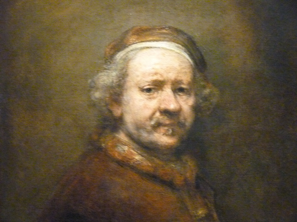 012 Rembrandt 1606-1669 self portrait at the age of 63 1669