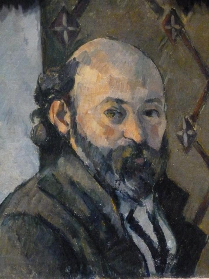 026-2 Paul Cezanne 1839-1906  self portrait about 1880-81
