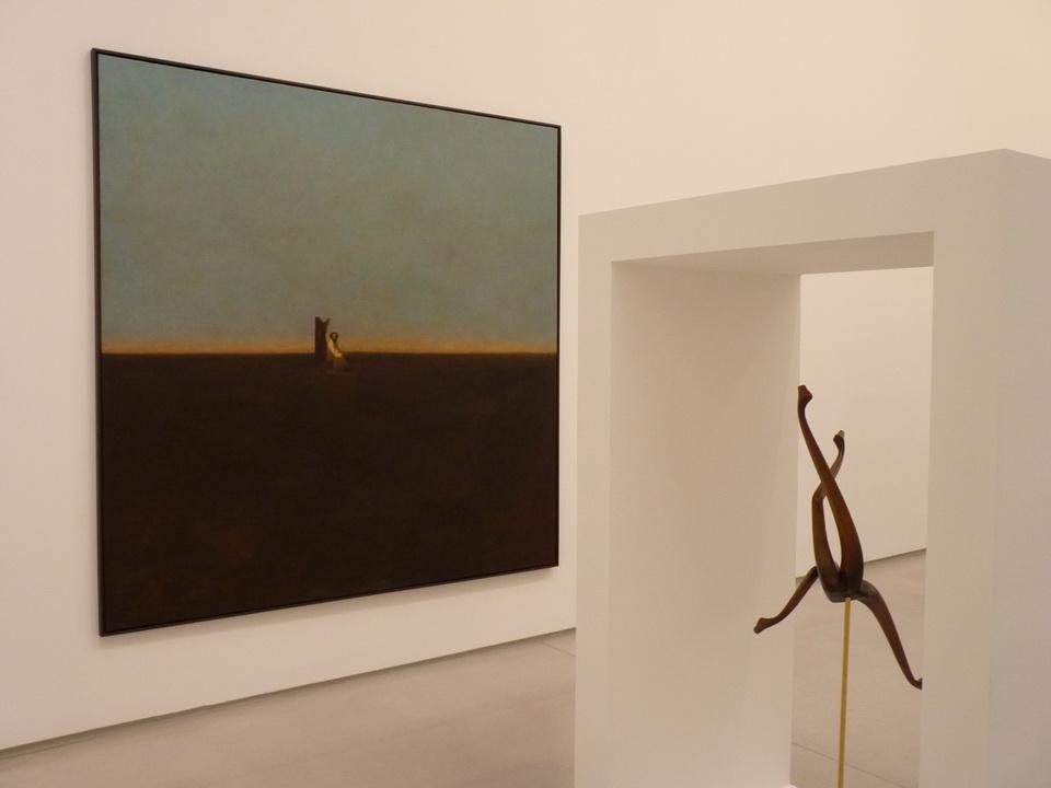 004  Markus Schinwald  b1973 untitled 200x200cm 2015 huile sur toile