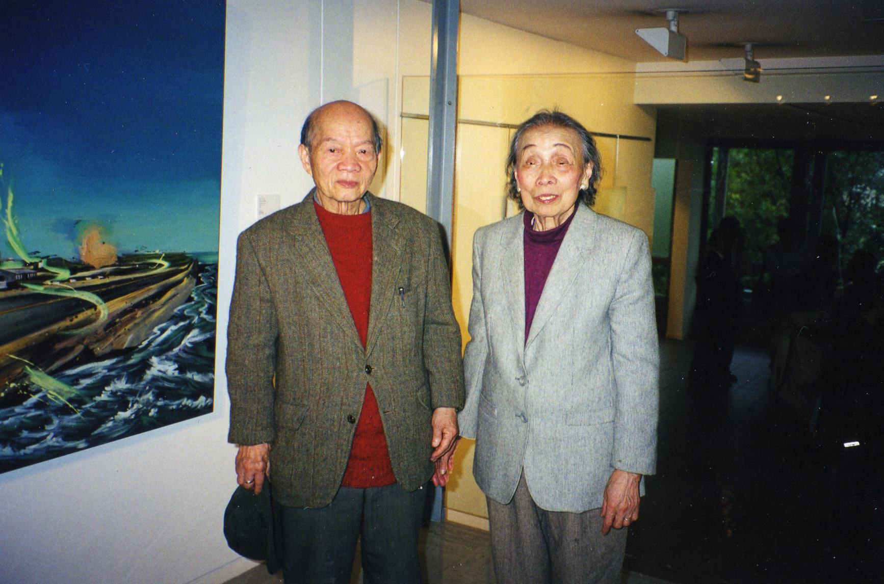 001 張義雄夫婦 2000