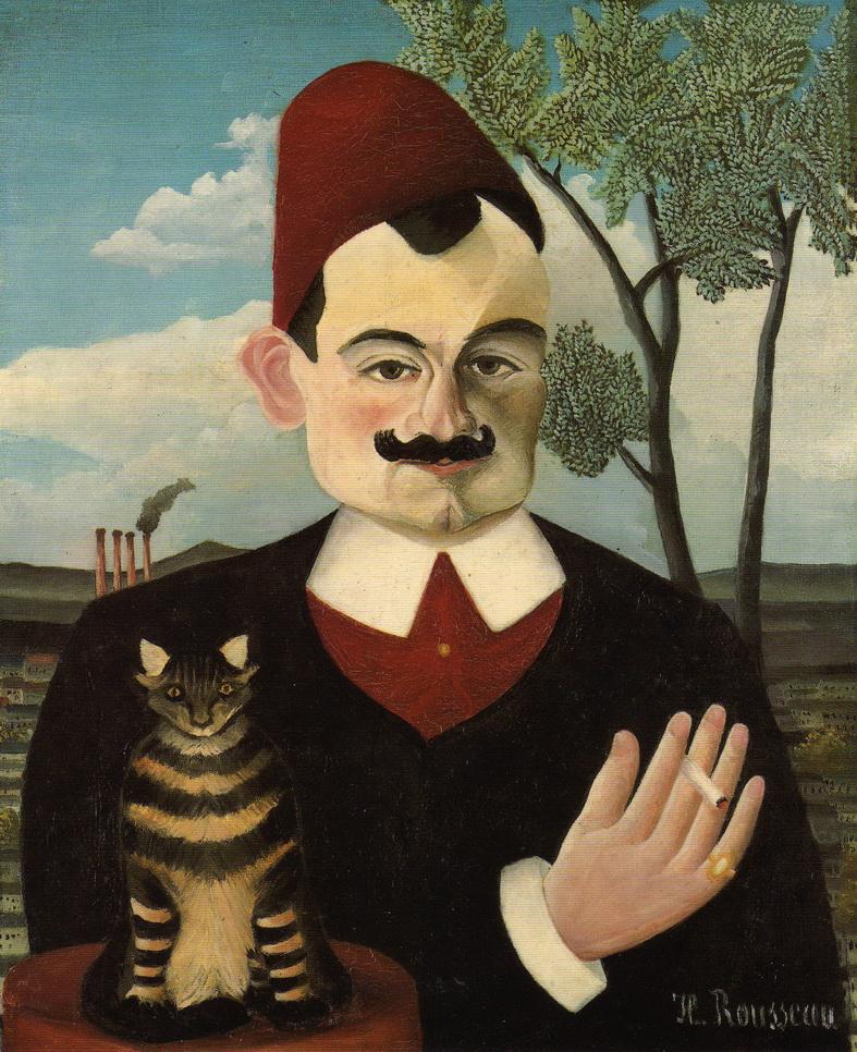 072 Rousseau 1891-92 Portrait de Pierre Loti 61x50 Kunsthaus Zurich
