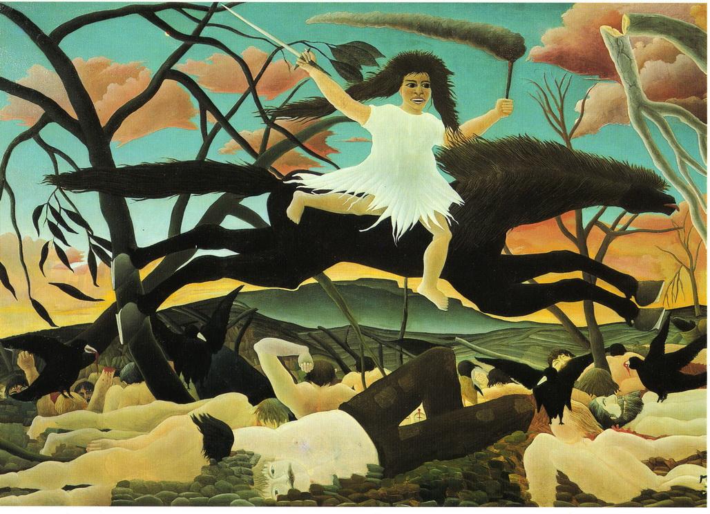 072-1 Rousseau 1894  La Guerre   114x195   Musee d Orsay
