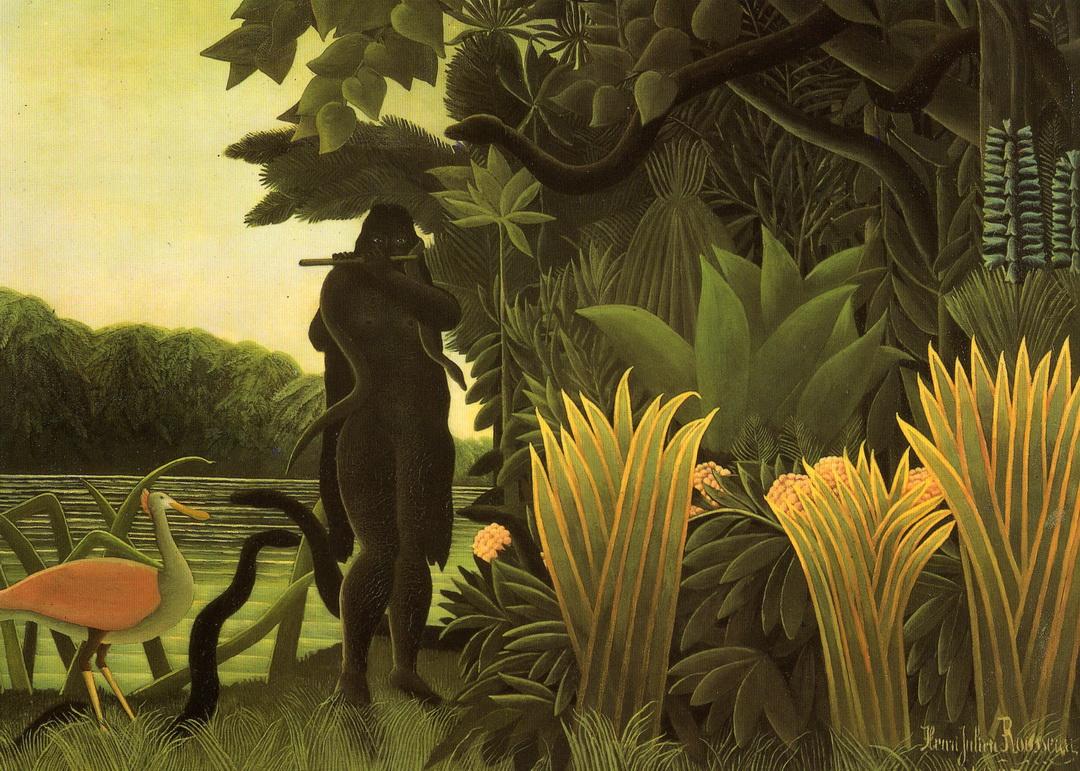 074 Rousseau 1907 La charmeuse de serpents 169x189   Musee d Orsay