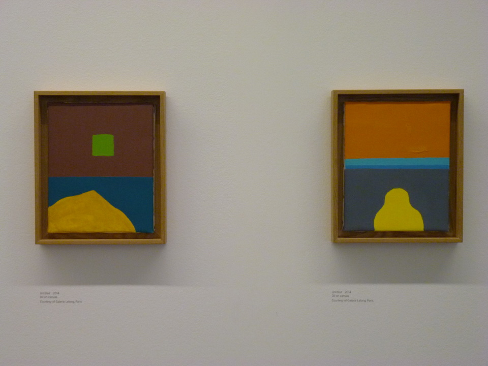 010  Etel Adnan b1925   untitled 2014  oil on canvas
