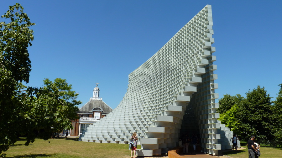 023  Serpentine  pavilion designed -   By Bjarke Ingels group -BIG  2016-07 (2)