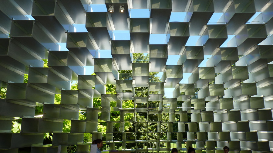 027  Serpentine  pavilion designed -   By Bjarke Ingels group -BIG  2016-07