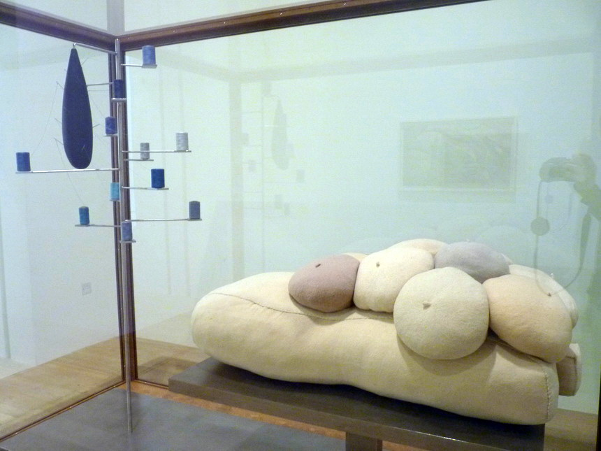 016-louise-bourgeois-1911-2010-untitled-2010-fabricl-thread-rubber-stainless-steel-wood-and-glass