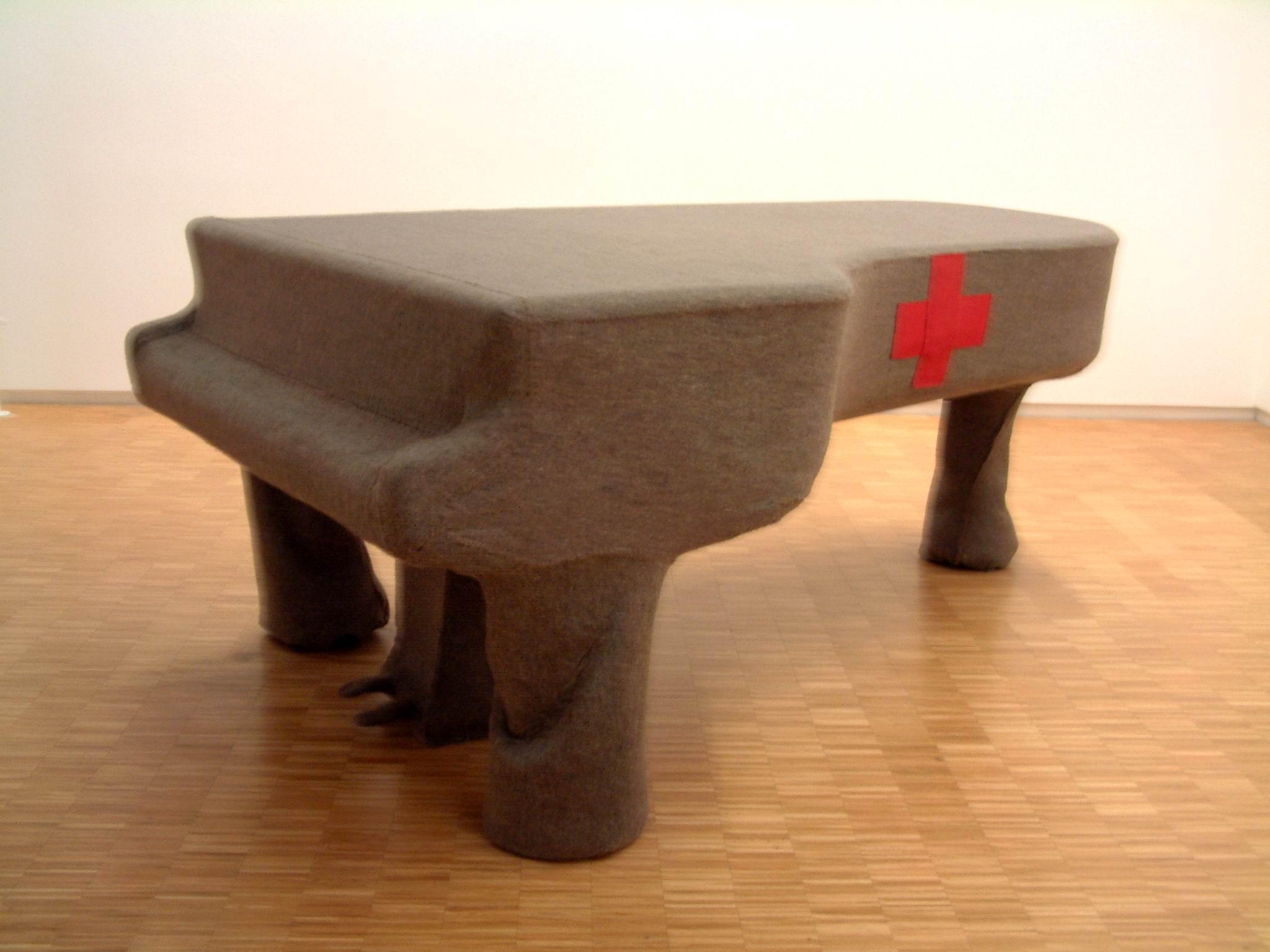056 Joseph Beuys(1921-86)a1966 100x152x240
