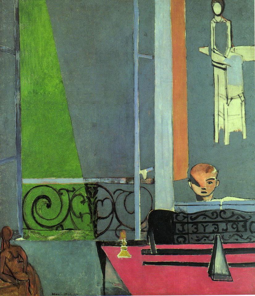 012-2 Matisse 1916 La lecon de piano 245x213 Museum of modern art NY