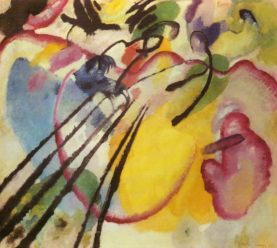 014-4 Kandinsky 1912 Improvisation n26 98x107.5 Stadtische Galerie Munich