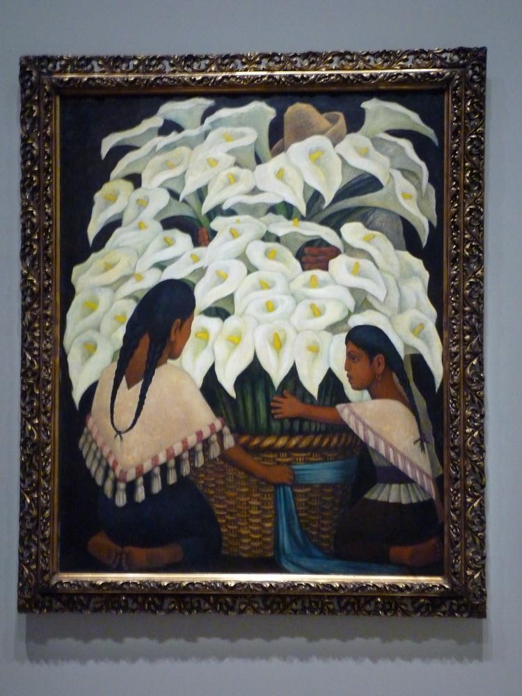 P1560984 Diego Rivera 1886-1957 vendeuses d arrums 1943 huile sur masconite
