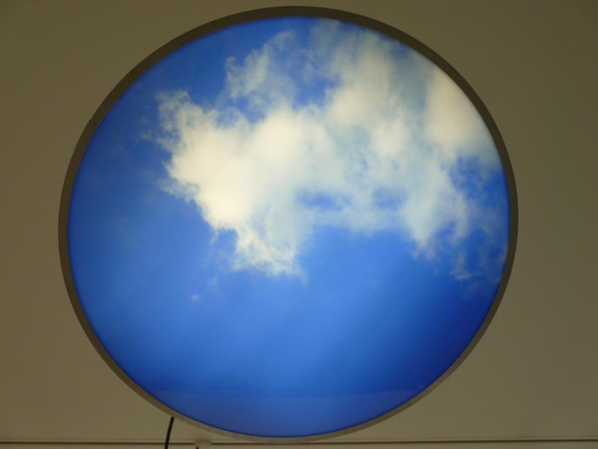 P1610163-2 Information Fiction Publicite skylightbox 1992 16cm dimen 110cm