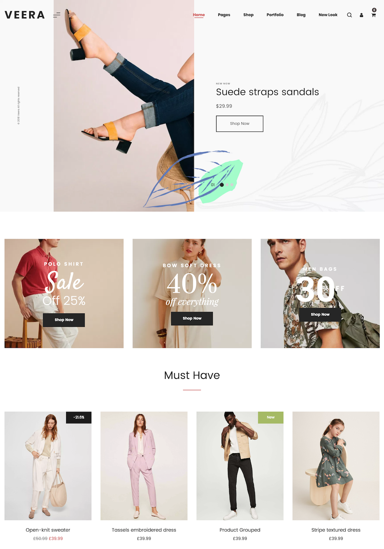 boutique électronique textile