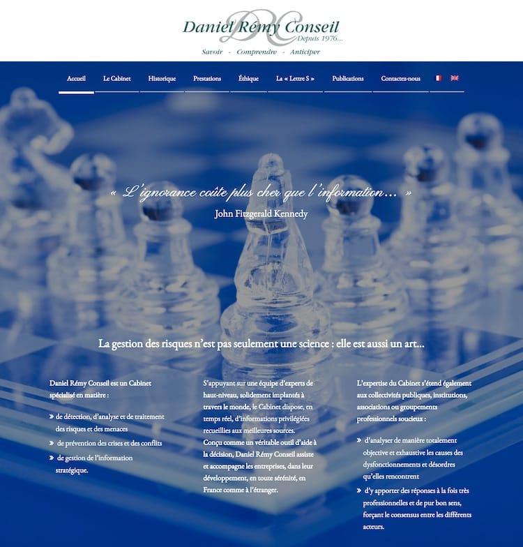 Site internet Daniel Remy Conseil