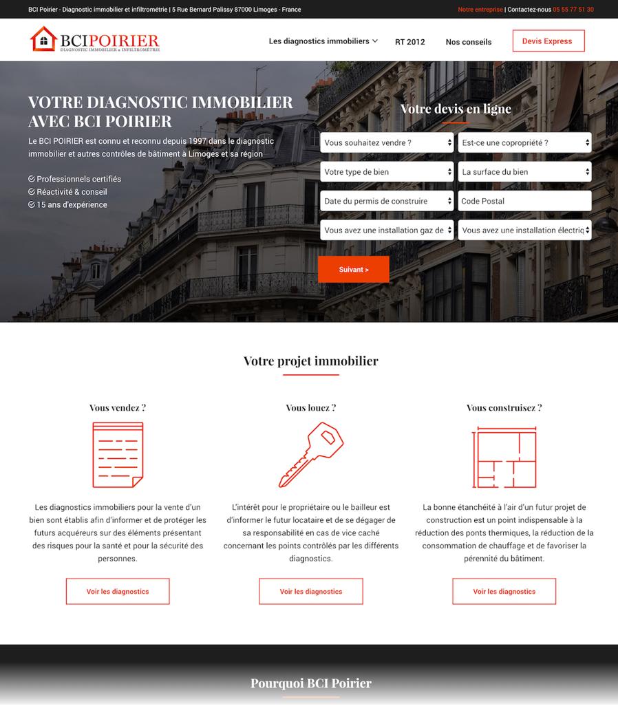 creation site web 87