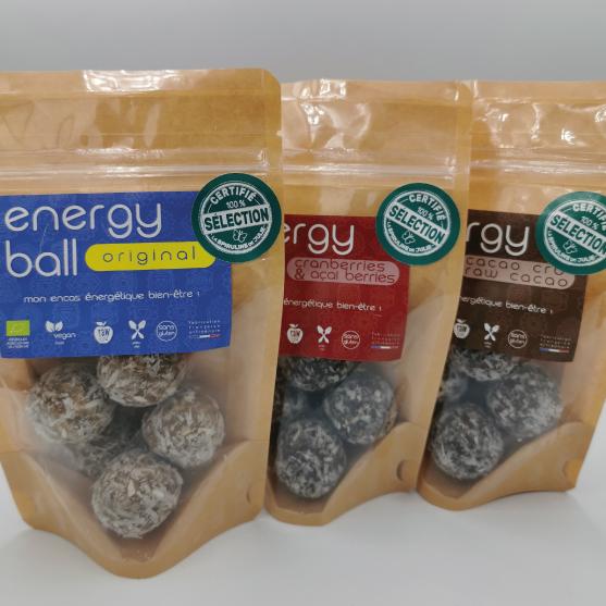 Energy balls Sélection La Spiruline de Julie coup de coeur Sachets